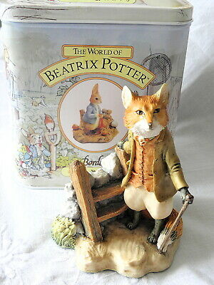 Border Fine Arts ~ Beatrix Potter ~ Foxy Whiskered Gentleman ~ Bp19 ~ Style One • 19.99£