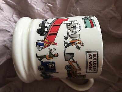 Emma Bridgewater 1/2 Pint Builder At Work Mug, Never Used And Boxed • 8£