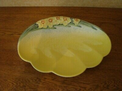 Vintage Beswick Daffodil Dish Mid Century No 1705 Large • 20£