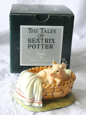 Border Fine Arts ~ Beatrix Potter ~ Yok Yok In The Clothes Basket ~ Bpm35 • 24.99£