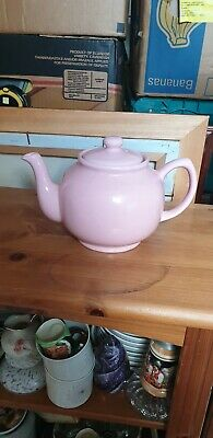Vintage Price And Kensington Pink Teapot Beautiful Interesting Unusual Superb  • 10£