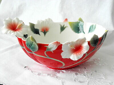 Franz Porcelain Collection ~ Island Beauty  Bowl ~ Fz01625 • 149.99£