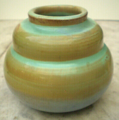 Prinknash Earthenware Studio Decorative 7cm Vase C1960 • 7£
