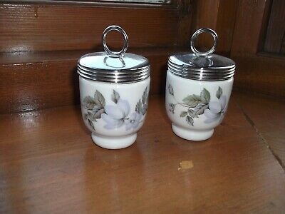 Pair Of Royal Worcester Egg Coddlers • 5£