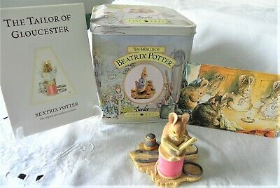 Border Fine Arts ~ Beatrix Potter ~ Tailor Of Gloucester ~ Bp3 ~ Style One • 29.99£