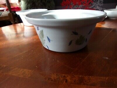 BUCHAN Stoneware Pottery Portobello Scotland THISTLE Serving Bowl • 18£