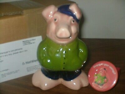 COUSIN WESLEY NATWEST PIG Boxed, With Badge,& Compliments Slip ,PLEASE READ AD • 92.99£