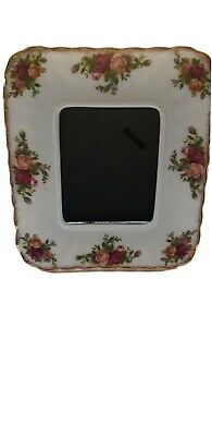 Royal Albert 6 X 4 Old Country Roses Picture Frame. Unboxed. • 4.40£