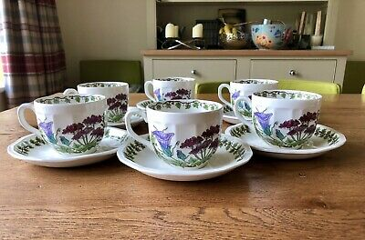 6x Ferndown The Campden Collection Poole Cups & Saucers • 15£