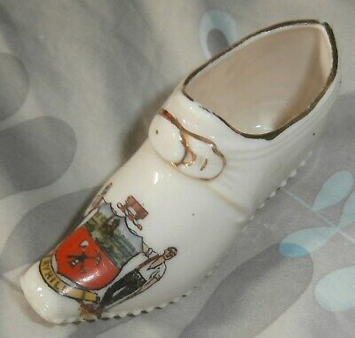 Goss Type Clog Ryhill Yorkshire Crest With Verse • 6.99£