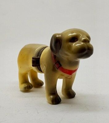 Vintage CHINA DOG Hinged Trinket Box Very Rare In Excellent Condition • 39£