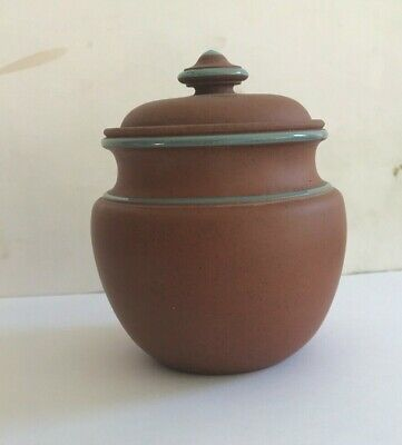 Arts And Crafts Watcombe Pottery Pot And Lid • 16£