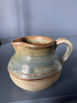 Jersey Potters Cream Jug.earthenware Pottery.stamped .rustic  • 7£