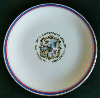 National And Local Government Officers Association Plate Royal Doulton 21cm/8.5  • 4.99£