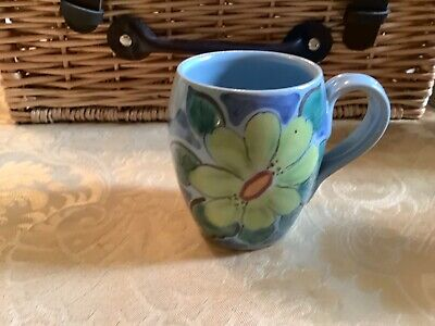 Buchan Stoneware Hand Painted Edinburgh Design Small Coffee Mug • 3£