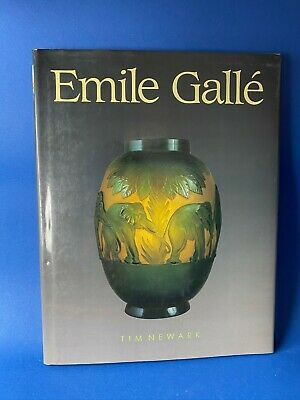 Emile Galle - Porcelain & Glass Catalouge With History - 1989 In English  • 99£