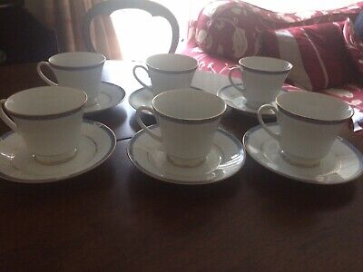 Set Of 4 Boots Blenheim China Tea Cups And Saucers • 13.79£