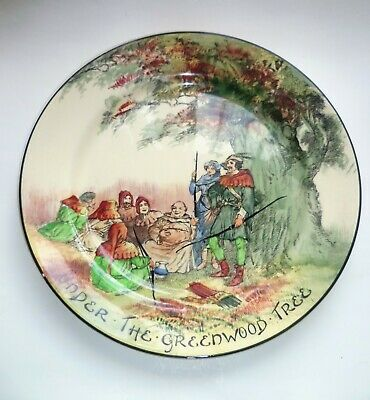 Royal Doulton 10  Plate  Under The Greenwood Tree  D3751 • 35£