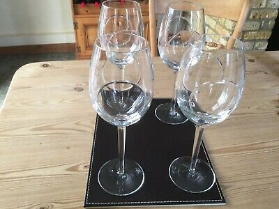 4 Beautiful John Rocha By Waterford Flow Circa  Wine Glasses Excellent Used Cond • 80£