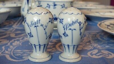 Bing And Grondahl B&G Denmark Bing & Grondahl Blue Traditional Salt And Pepper  • 85£