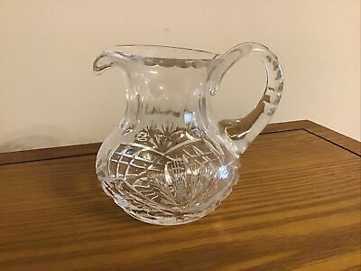 Cut Crystal Milk Jug • 8£