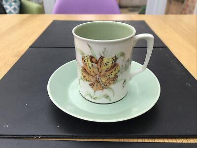Vintage Branksome China Hand Painted Miriam Cup And Saucer  • 5.99£