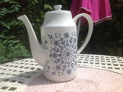 Midwinter Unusual Extra Large Coffee Pot In Valencia Design • 9.75£