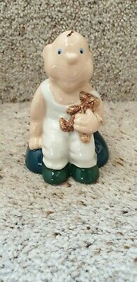 Wade Collector's Club Baby And Teddy Figurine 1997-98 • 3£
