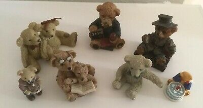 Cute Pottery Teddy Bear Collection In Very Good Condition • 2.99£