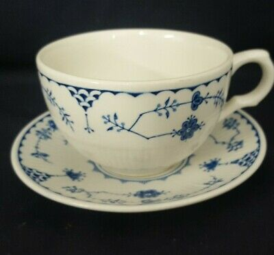 Mason's Blue And White Denmark Cup & Saucer  • 5.99£