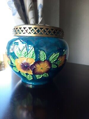 J Fryer Ltd Old Court Ware - Hand Painted Posy Holder  • 9.70£