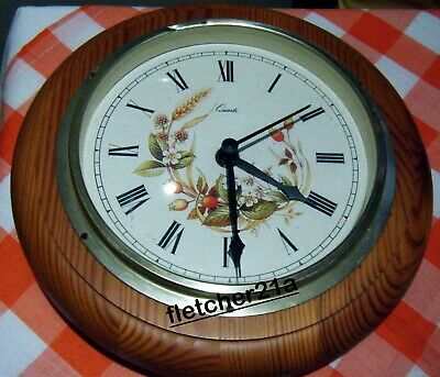 Marks And Spencer M&s Harvest Quartz Wall Clock Gwo • 4.99£