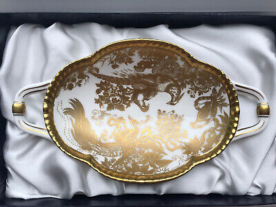 Royal Crown Derby Aves Gold Melbourne Tray - Boxed - Brand New  • 49£