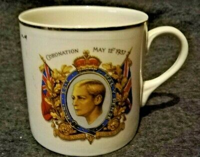 EDWARD VIII 12th May 1937 CORONATION MUG:  • 1£