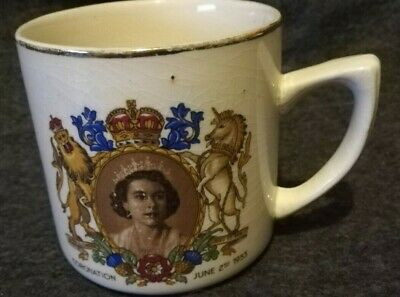 Elizabeth Ii June 2nd1953 Coronation Cup:  • 1£