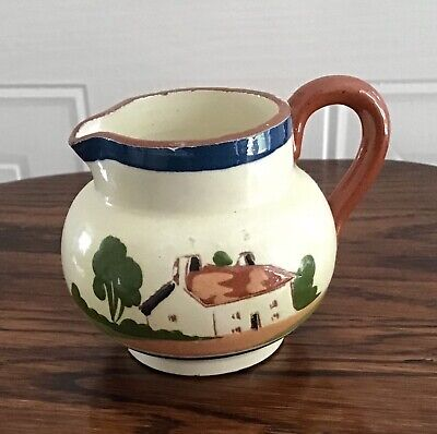 Watcombe Devon Motto Ware Jug Straight From The Cow • 9£