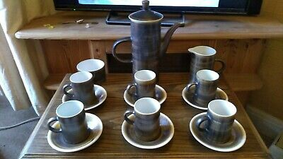 Cinque Ports Pottery Coffee Set The Monetary Rye • 30£