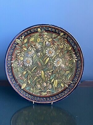 Doulton Lambeth Pottery Charger By Mary Capes • 720£