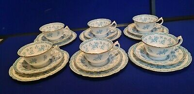 Six Wileman Foley Pre Shelley Trios - Dated Marked For 1903 -'Enola' Pattern • 275£