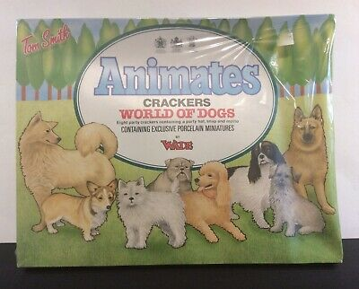 """Vintage WADE Ceramic Tom Smith """"World Of Dogs"""" Crackers • 20.06£"""