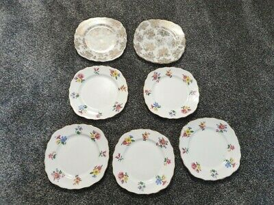 Bone China Royal Vale Plates 5 Off, Colclough 2 Off • 10£