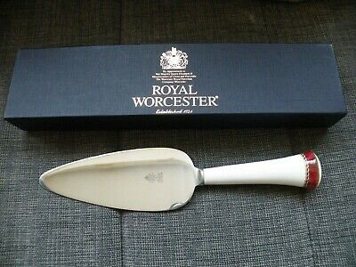 Royal Worcester  MEDICI RUBY  Cake Slice - Boxed - New • 8.10£