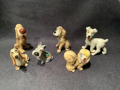 Wade Whimsies Lady And The Tramp Set Of Six Figures • 20£