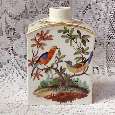 C1750 Meissen Hand Painted Vanity Bottle. Marked To Base, Antique • 350£