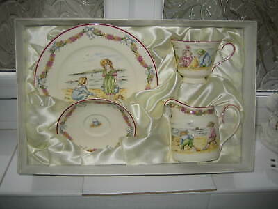 Royal Doulton Archives Series Ware, Pastime Summer (cup, Saucer, Jug, Plate) • 35.95£