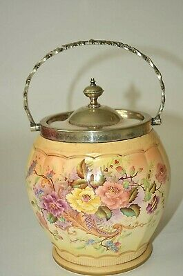 Antique/vintage Carlton Ware All The Round Biscuit Barrel (1722) • 50£