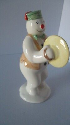 "Royal Doulton Snowman  ""CYMBALS PLAYER  - DS14 In Excellent  Condition • 90£"