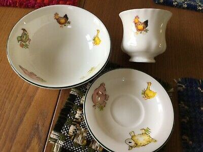 Royal Vale Child's  Set Rare Animal Pieces, Fun • 7£