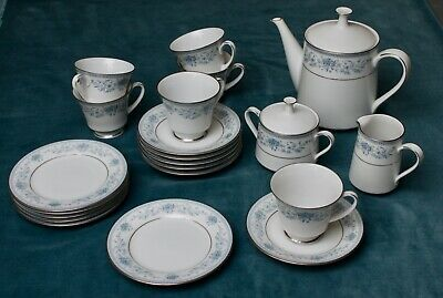 Noritake  Blue Hill  Fine China  2482 Tea Service - Superb • 30£