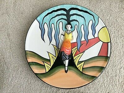 Lorna Bailey:  Art Deco Lady Charger  • 150£